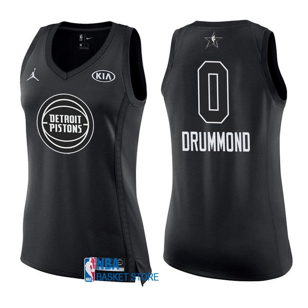 Achat Maillot NBA Femme 2018 All Star NO.0 Andre Drummond Noir