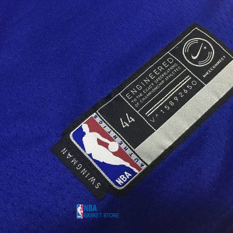 Achat Maillot NBA Nike Golden State Warriors NO.35 Kevin Durant Bleu Icon
