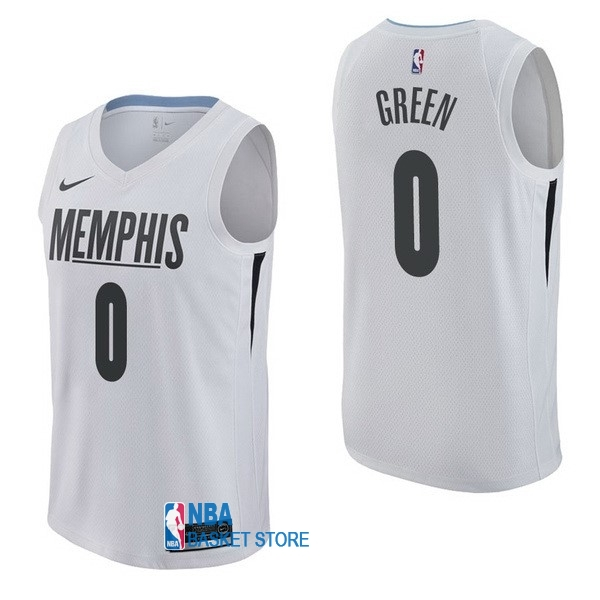 Achat Maillot NBA Nike Memphis Grizzlies NO.0 JaMychal Green Nike Blanc Ville