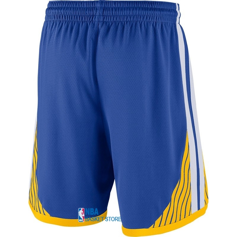 Achat Short Basket Golden State Warriors Nike Bleu