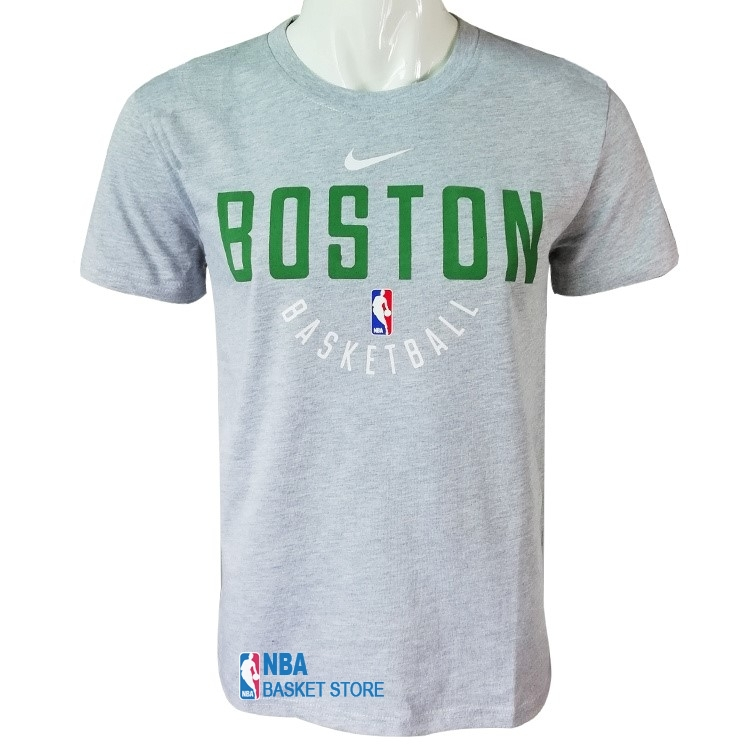 Achat T-Shirt Boston Celtics Gris