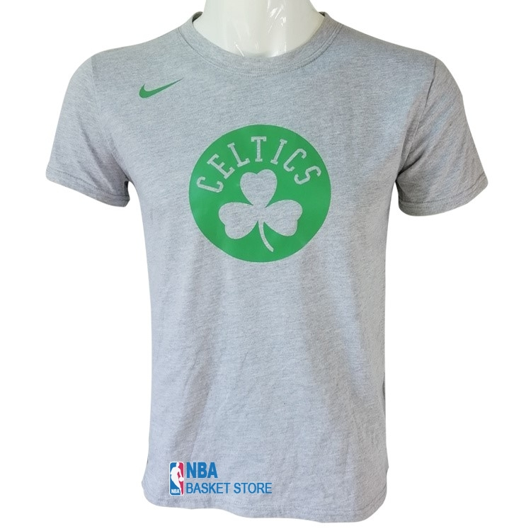 Achat T-Shirt Boston Celtics Nike Gris