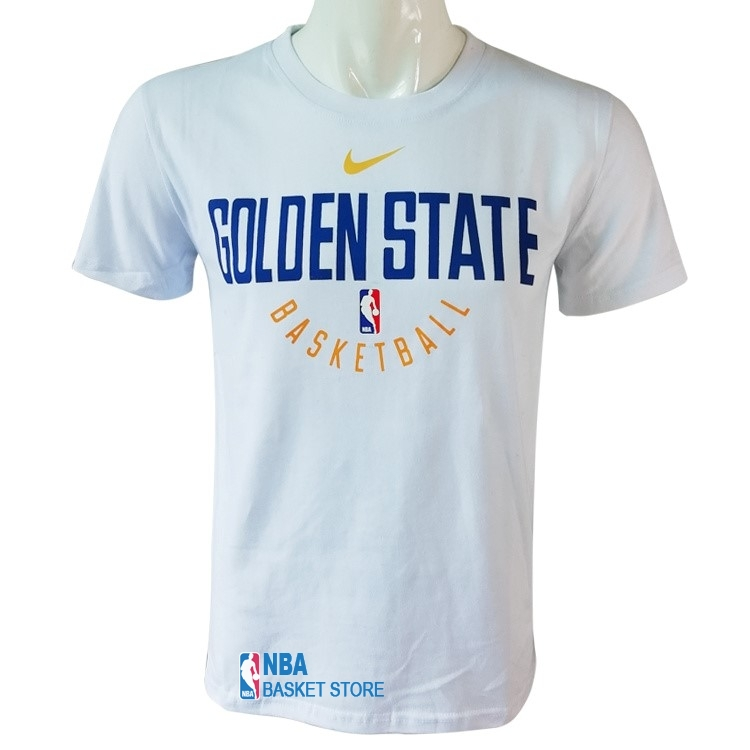 Achat T-Shirt Golden State Warriors Nike Blanc