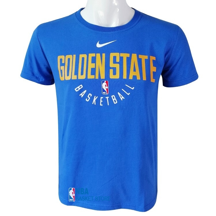 Achat T-Shirt Golden State Warriors Nike Bleu