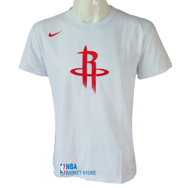Achat T-Shirt Houston Rockets Nike Blanc