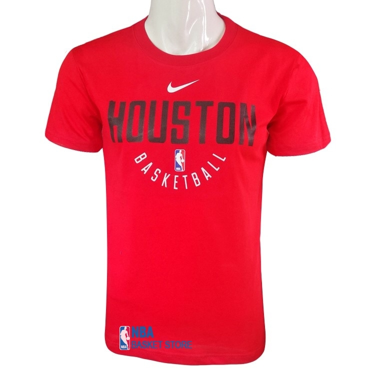 Achat T-Shirt Houston Rockets Nike Rouge Noir