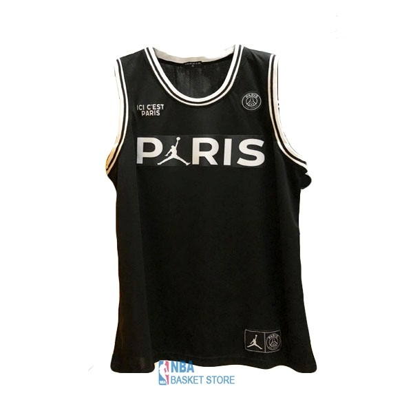 Achat Maillot Collaboration Maillot Basket-ball Jordan x Paris Saint-Germain NO.23 Jordan Noir