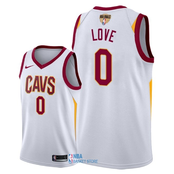 Achat Maillot NBA Cleveland Cavaliers 2018 Final Champions NO.0 Kevin Love Blanc Association Patch