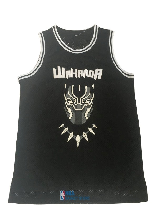 Achat Maillot NBA Film Basket-Ball Black Panther NO.1 Noir