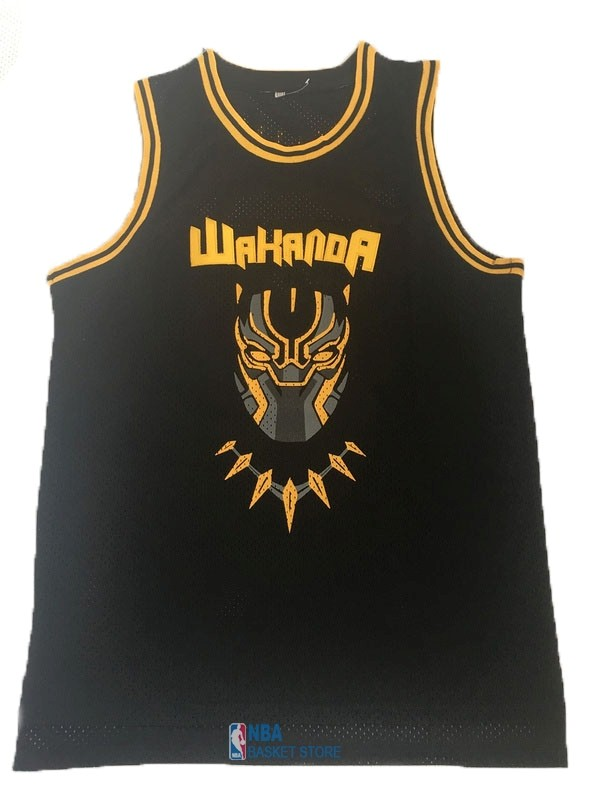 Achat Maillot NBA Film Basket-Ball Black Panther NO.2 Noir