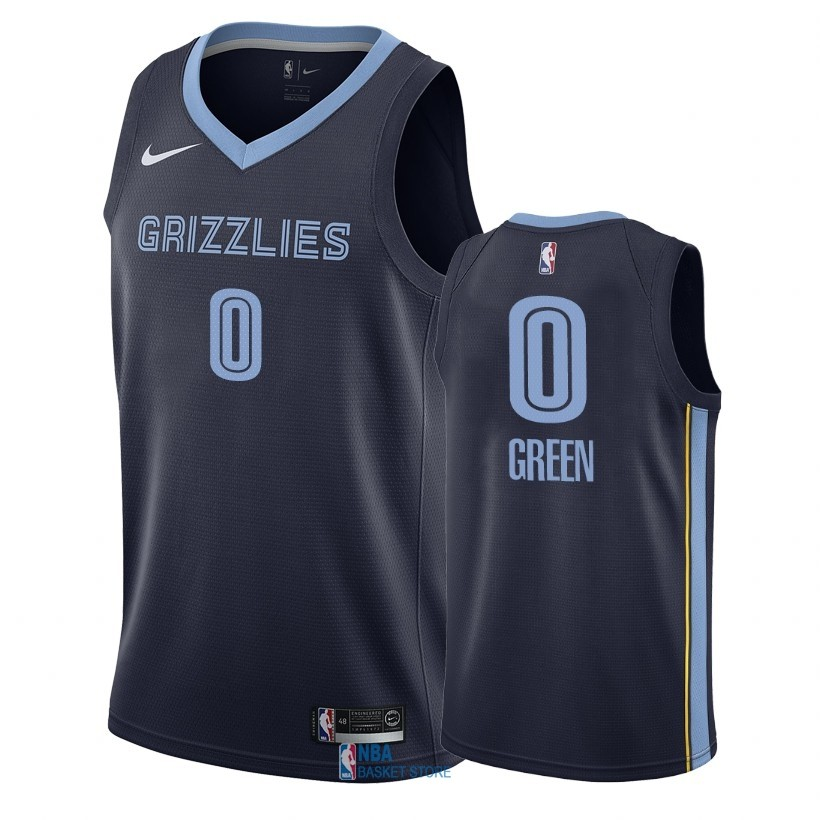 Achat Maillot NBA Nike Memphis Grizzlies NO.0 JaMychal Green Marine Icon 2018-19