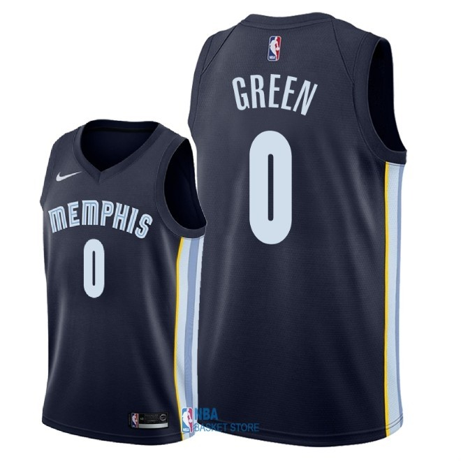 Achat Maillot NBA Nike Memphis Grizzlies NO.0 JaMychal Green Marine Icon 2018