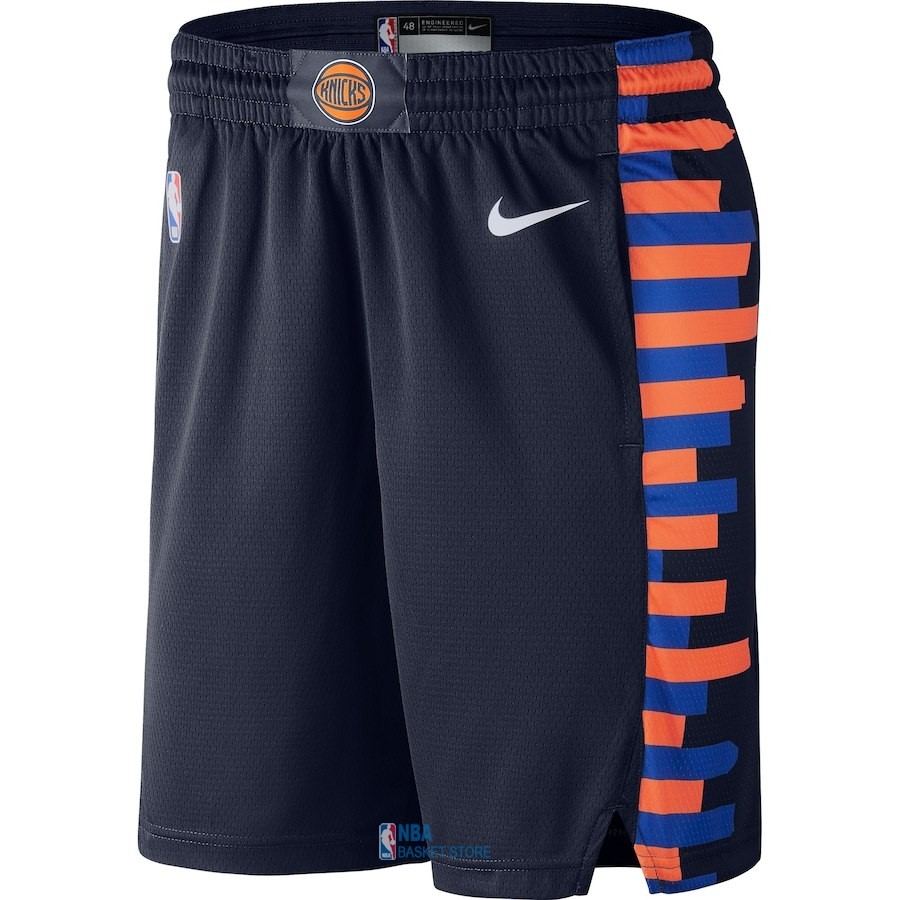 Achat Short Basket New York Knicks Nike Marine Ville 2018-19