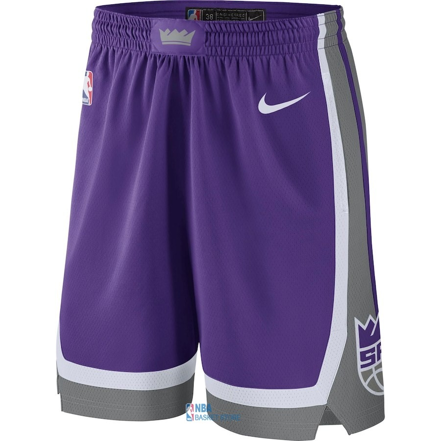 Achat Short Basket Sacramento Kings Nike Pourpre Icon 2018