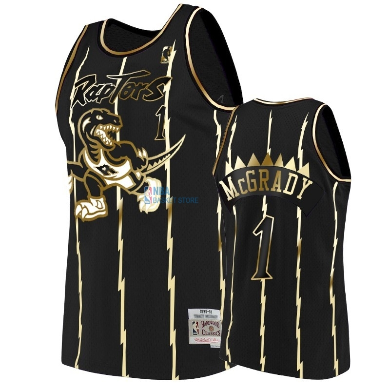 Achat Maillot NBA Nike Toronto Raptors NO.1 Tracy McGrady Or Edition
