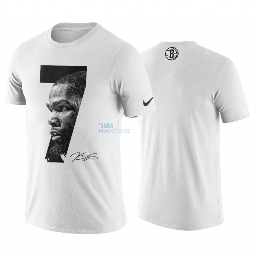 Achat T-Shirt NBA Brooklyn Nets Kevin Durant Blanc