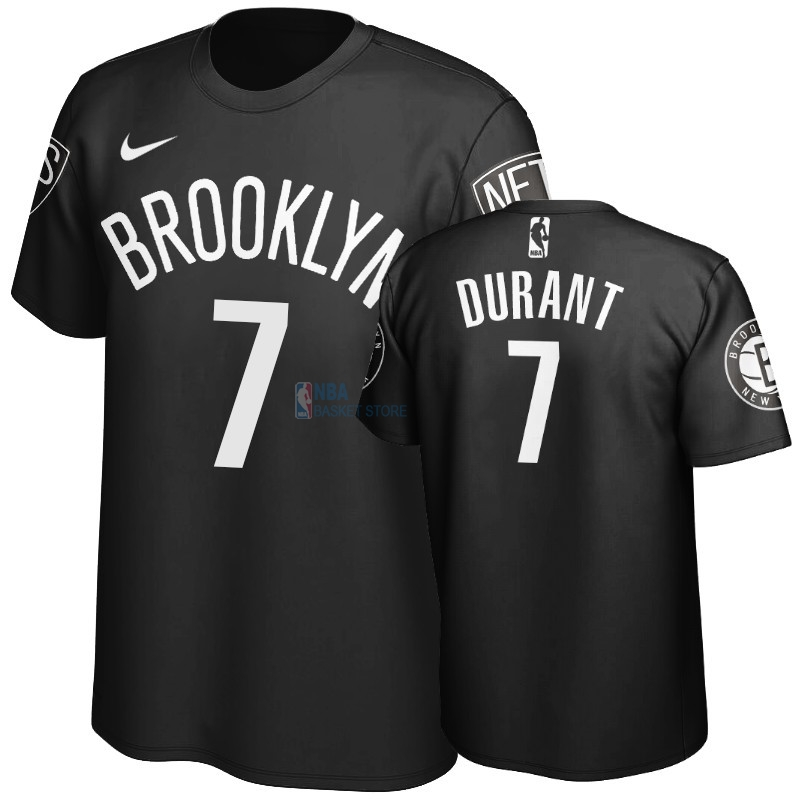 Achat T-Shirt NBA Brooklyn Nets Kevin Durant Noir