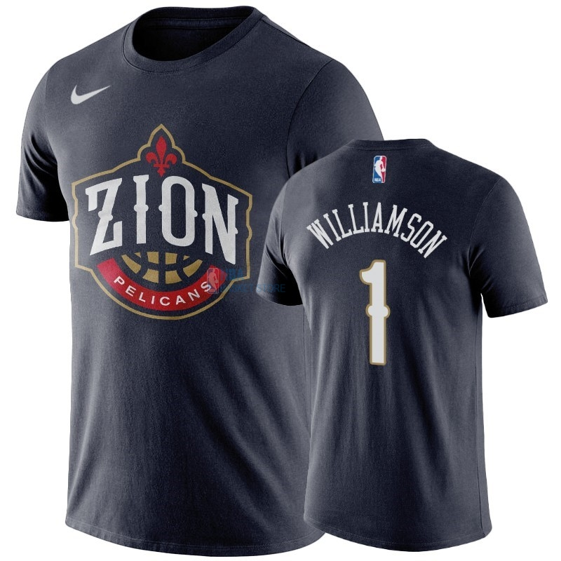 Achat T-Shirt NBA New Orleans Pelicans Zion Williamson Marine