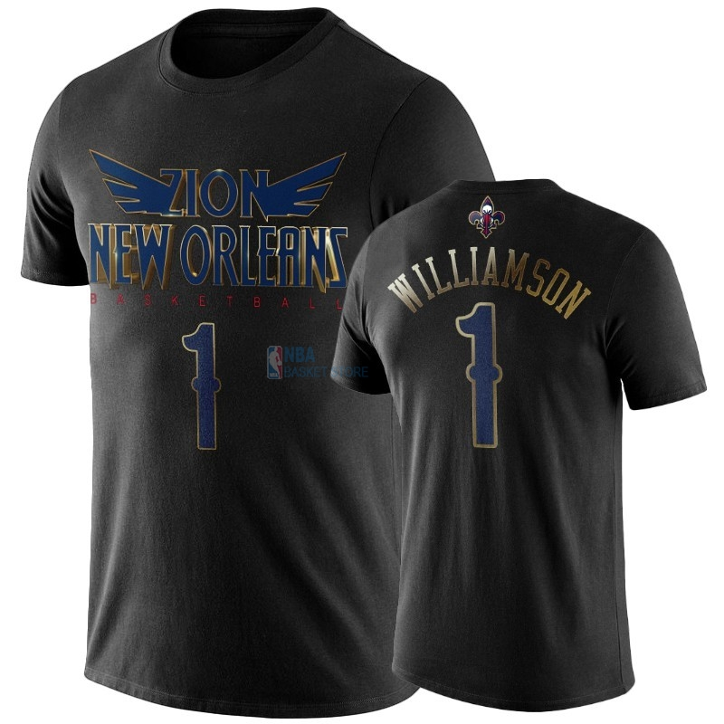 Achat T-Shirt NBA New Orleans Pelicans Zion Williamson Noir