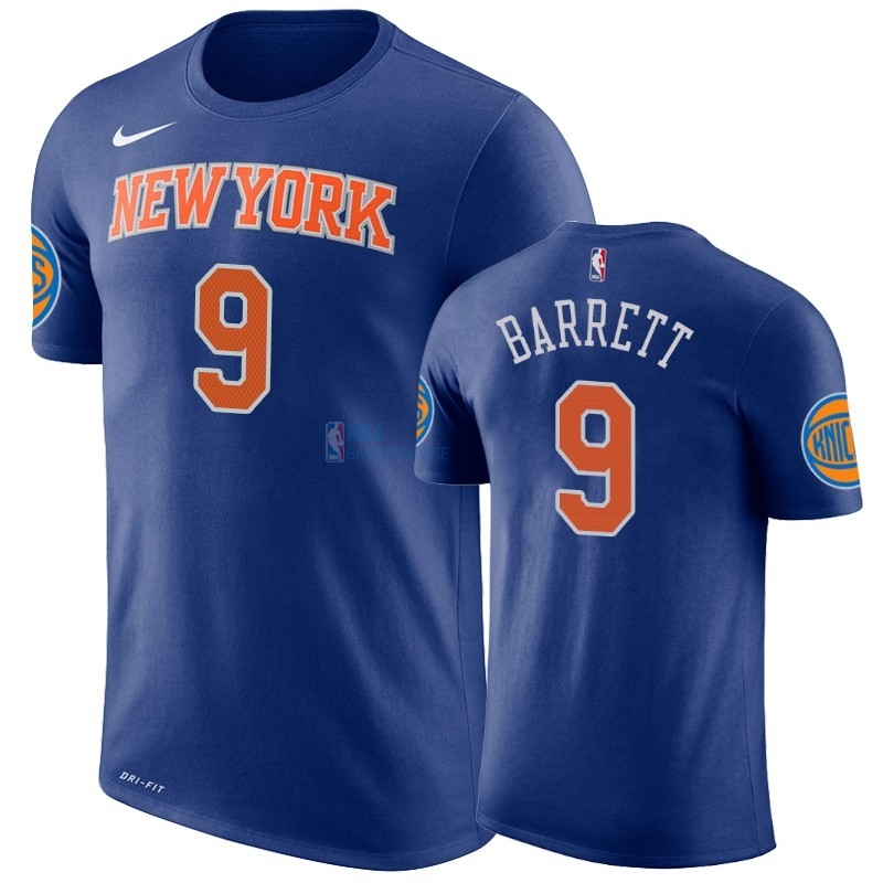 Achat T-Shirt NBA New York Knicks R.J. Barrett Bleu