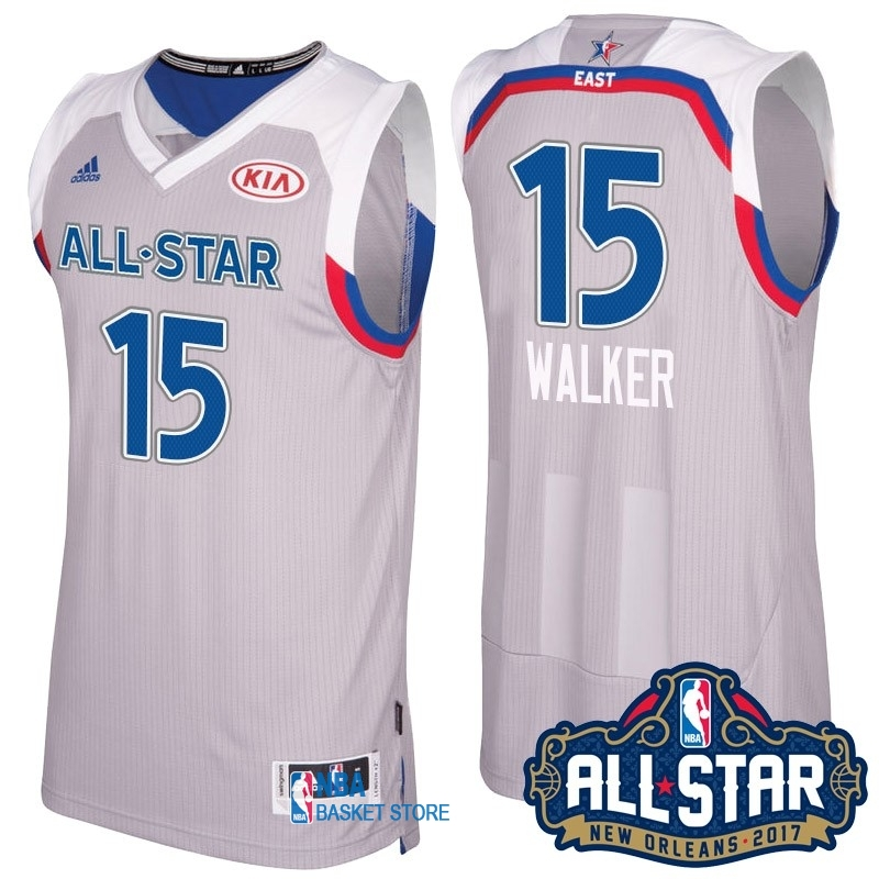 Achat Maillot NBA 2017 All Star NO.15 kemba Walker Gray