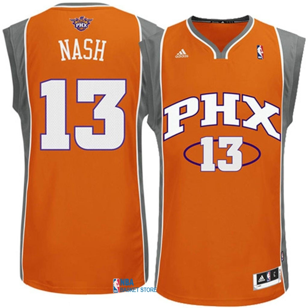 Achat Maillot NBA Phoenix Suns NO.13 Steve Nash Orange