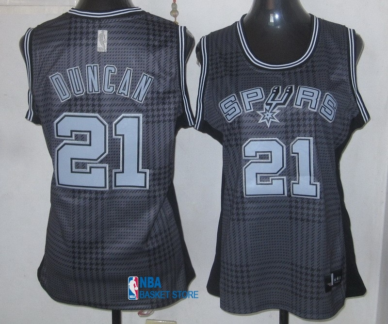 Achat Maillot NBA Femme 2013 Static Fashion NO.21 Duncan