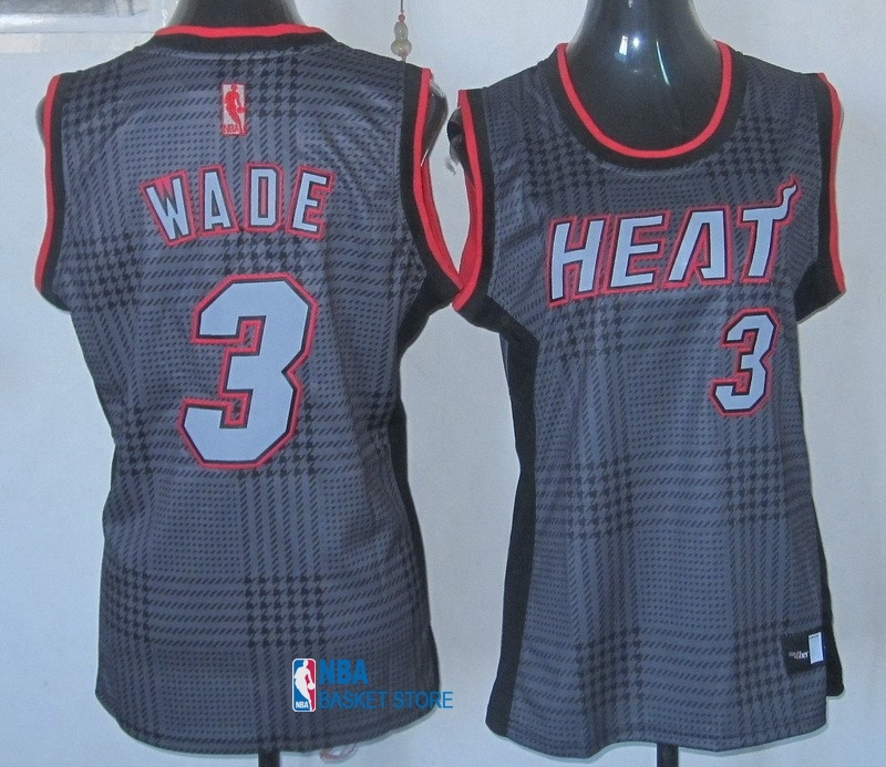 Achat Maillot NBA Femme 2013 Static Fashion NO.3 Wade