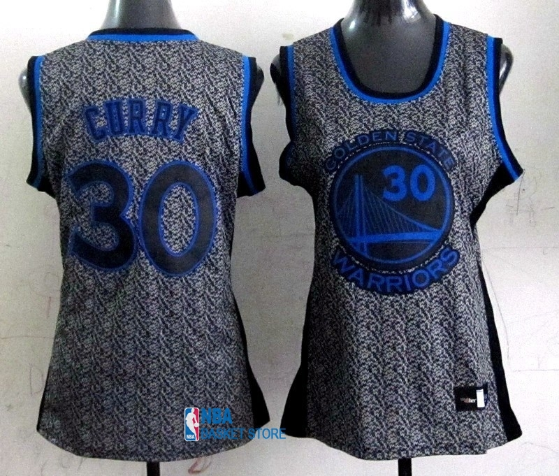 Achat Maillot NBA Femme 2013 Static Fashion NO.30 Stephen Curry
