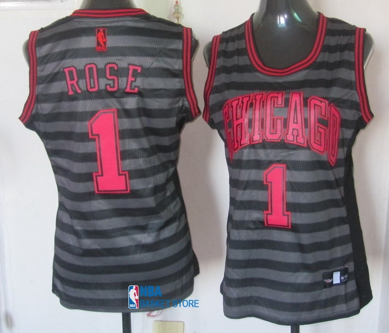 Achat Maillot NBA Femme Groove Fashion NO.1 Derrick Rose