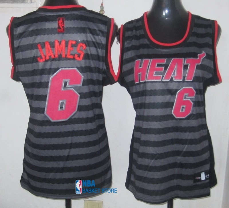 Achat Maillot NBA Femme Groove Fashion NO.6 LeBron James