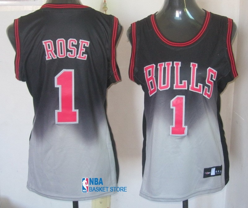 Achat Maillot NBA Femme Retentisse Fashion NO.1 Derrick Rose