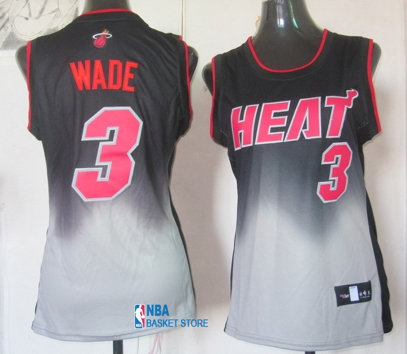 Achat Maillot NBA Femme Retentisse Fashion NO.3 Dwyane Wade