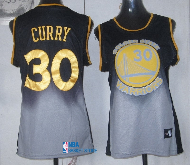 Achat Maillot NBA Femme Retentisse Fashion NO.30 Stephen Curry