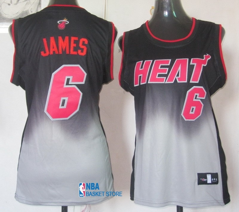 Achat Maillot NBA Femme Retentisse Fashion NO.6 LeBron Jamese