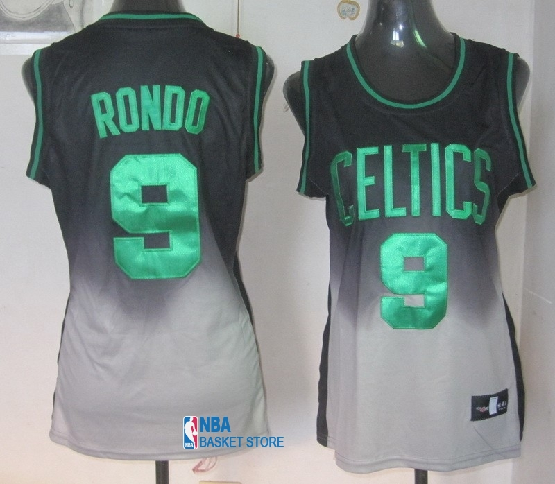 Achat Maillot NBA Femme Retentisse Fashion NO.9 Rajon Rondo
