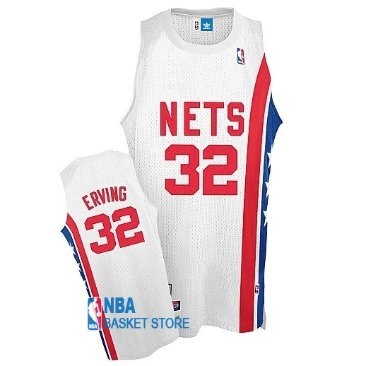 Achat Maillo ABA Brooklyn Nets NO.32 Erving Blanc