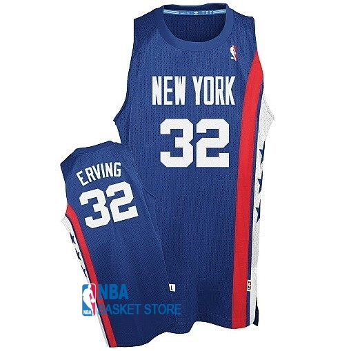 Achat Maillo ABA Brooklyn Nets NO.32 Erving Bleu