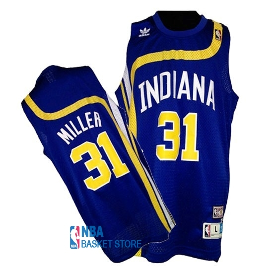 Achat Maillo ABA Indiana Pacers NO.31 Miller Bleu
