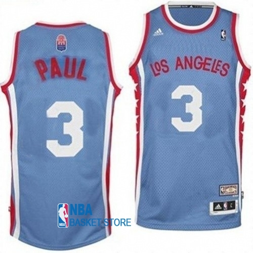 Achat Maillo ABA Los Angeles Clippers NO.3 Paul Gris