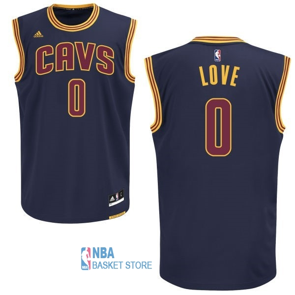 Achat Maillot NBA Cleveland Cavaliers NO.0 Kevin Love Bleu