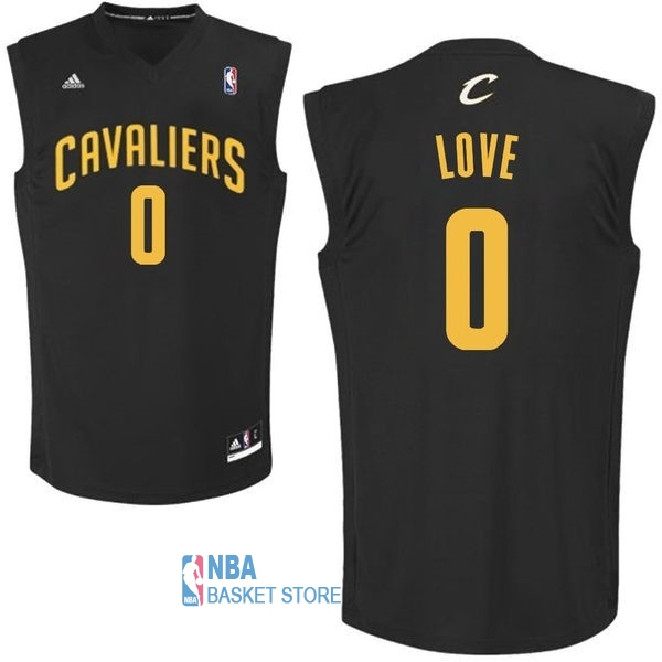Achat Maillot NBA Cleveland Cavaliers NO.0 Kevin Love Noir