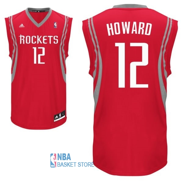 Achat Maillot NBA Houston Rockets NO.12 Dwight Howard Rouge