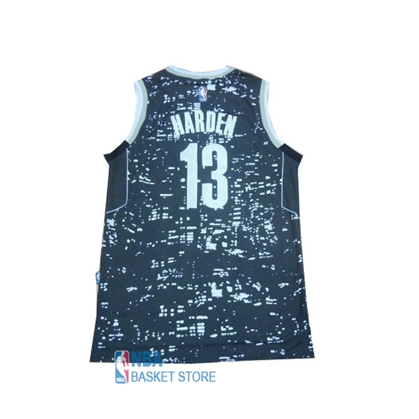 Achat Maillot NBA Houston Rockets Ville Lumières NO.13 James Harden Bleu