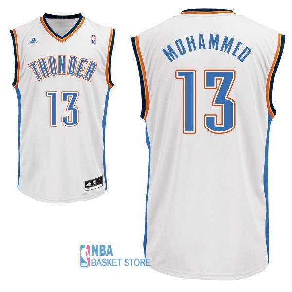 Achat Maillot NBA Oklahoma City Thunder NO.13 James Harden Blanc