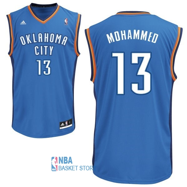 Achat Maillot NBA Oklahoma City Thunder NO.13 James Harden Bleu