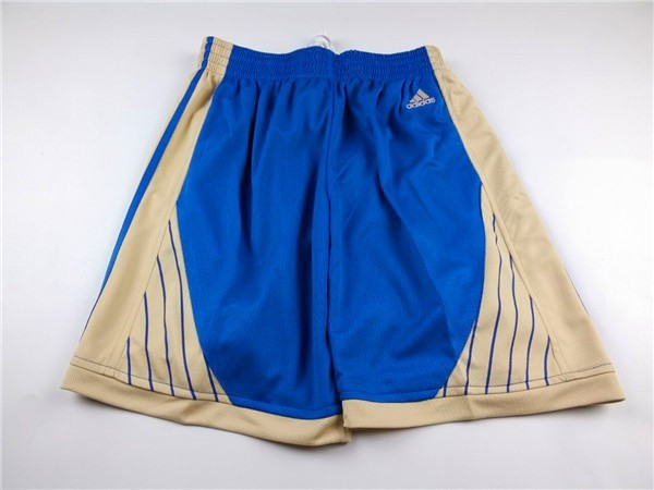 Achat Short Basket 2015 Noël Golden State Warriors Bleu