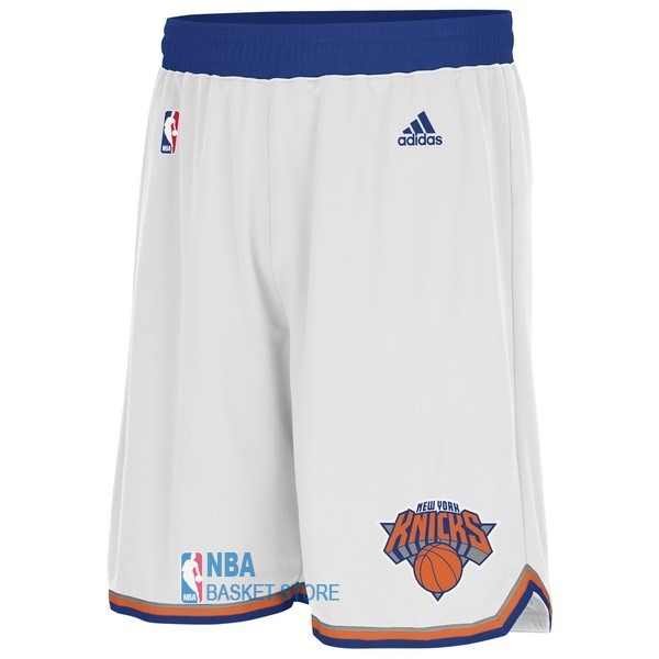 Achat Short Basket New York Knicks Blanc
