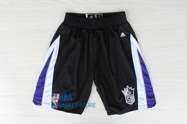 Achat Short Basket Sacramento Kings Noir
