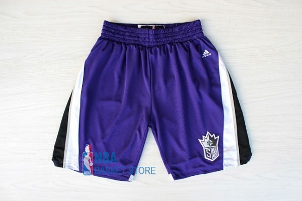 Achat Short Basket Sacramento Kings Pourpre